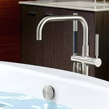 kohler bathroom faucets bathtub faucets a shower faucets kohler purist bathroom faucet gold