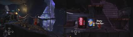 grab the fuse from the fuse box at the t the cave in order to pass the door on your the gift shop on the cave fuse box