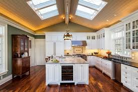 similar kitchen lighting advice. View In Gallery Skylights Bring Drama To This Traditional Kitchen [Design: Cathy Knight Of Architects] Similar Lighting Advice