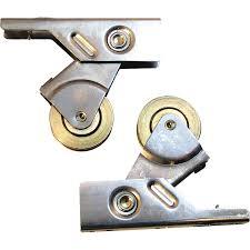prime line 1 in dia stainless steel sliding screen door roller with steel housing