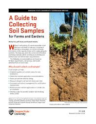 A Guide To Collecting Soil Samples For Farms And Gardens