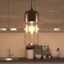 adjustable pendant lighting. Industrial Pendant Lighting Led Light Adjustable Hanging With Filament Bulb