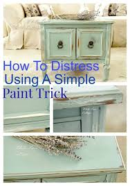 How To Paint Furniture To Look Antique