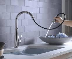 Kohler K 780 VS Cruette Pull Down Kitchen Faucet Vibrant