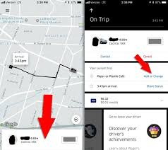 Round Trip In An Uber How To Add Multiple Stops And Do A