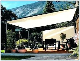 Deck Awning Ideas Unique Patio Shades And Elegant Sail Canopy For
