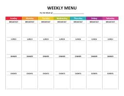 Weekly Household Cleaning Schedule Weekly House Cleaning Schedule Printable Plete Housekeeping