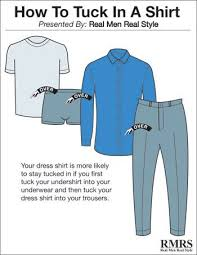In The Shirt 4 Ways To Tuck In A Dress Shirt Wear Your Shirts Perfectly Using