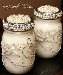 Decorating Candle Jars Beautiful Mason Jar Candles Perfect for a wedding 34