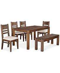 dining room table with leaf. Avondale 6-Pc. Dining Room Set, Created For Macy\u0027s, (60\ Table With Leaf S