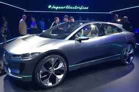 2018 jaguar hybrid. brilliant jaguar 2018 jaguar ipace electric suv revealed in jaguar hybrid i