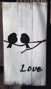 wood sign glass decor wooden kitchen wall: love bird pallet sign pallet primitive rustic country picture wall decor wood ebay