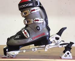 we ve had a lot of people asking us about a dodge boot with alpine touring tech fittings that would allow the boot to be used with a dynafit type binding