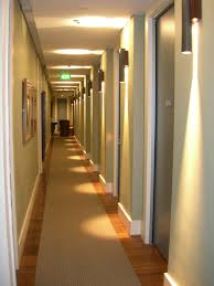 hotel hallway lighting. adding a runner down the hallway hotel lighting l