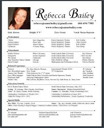 Dance Resume Cool How To Make A Dance Resume Elegant How To Make A Dance Resume