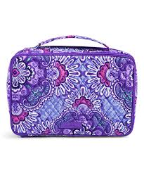 all gone lilac tapestry large blush brush makeup case