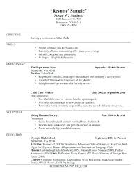 Sample Of Waitress Resume Interesting Waiter Resume Example Doc Sample Waitress Food And Beverage Template