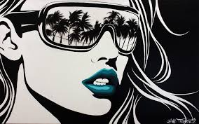 black and white pop artists imgkid the 30 black and white pop paintings