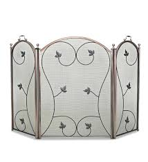 modern fireplace screen canada living room best screens images on scroll fold traditional