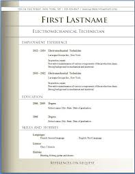 Free Resume Templates Pdf - Trenutno.info