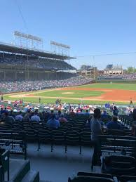 Wrigley Field Section 226 Row 4 Seat 1 Chicago Cubs Vs