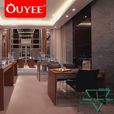 newest design whole boutique jewelry display jewellery showroom furniture design