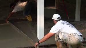 Build A Concrete Patio How To Pour Concrete Patio Youtube