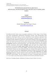 Penelitian terdahulu, kasus, dan data yang didapatkan dengan teknik netnography menjadi unsur penting dalam memenuhi subtansi teks dan konteks. Pdf Pendidikan Karakter Dalam Upaya Menangkal Radikalisme Di Sma Negeri 3 Kota Depok Jawa Barat