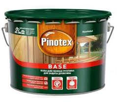 Купить Защитная <b>грунтовка</b>-<b>антисептик Pinotex Base</b> 9л. в ...