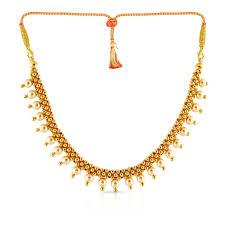 Gold Waist Chain Designs Malabar Gold Necklace Nkpjth017