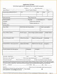 Application Form For Rental Application For Renting Kadil Carpentersdaughter Co