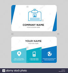 Contact Id Card Business Card Design Template Visiting For