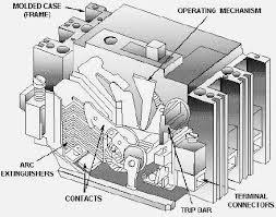 mccb circuit diagram mccb image wiring diagram moulded case circuit breakers mccb studyelectrical online on mccb circuit diagram