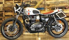 triumph street tracker kit from standard motorcycle co at cyril