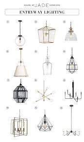 Entryway Light Fixtures Design Tip Entryway Lighting Houseofjadeinteriorsblog