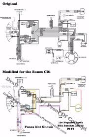 wiring loom for bones cdi d10 d14 and b175 models forum bsa comparason jpg