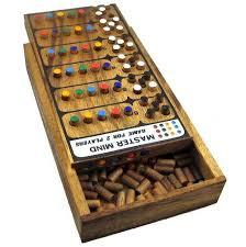 Wooden Mastermind Game Mastermind Wooden Brain Teaser Game 1