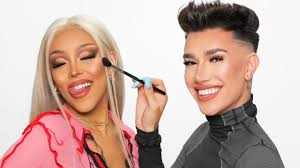___ makeup by @the_wigs_and_makeup_manager photo by @jonsams. James Charles Does Doja Cat S Makeup Watch Billboard