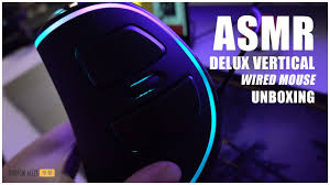 Narrow Alley 窄巷 - Unboxing <b>DELUX M618 Plus vertical</b> mouse ...
