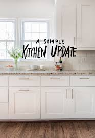 a simple kitchen update