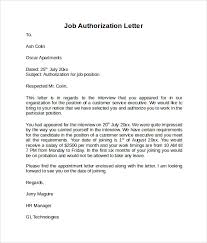 9 Sample Letter Of Authorization Download For Free Sample Templates