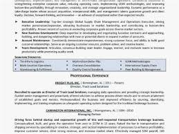 Freight Broker Sample Resume Classy Guaranteed Resumes Format Transportation Broker Job Description And