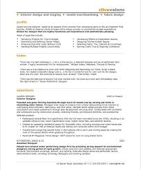 Assistant Designer Resume Interior Design Resume Steadfast170818 Com