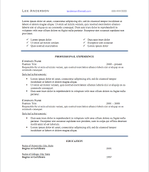 Standard Font Size For Resume What Font Size For Resume Resume Format Letter Size Resume Font 9