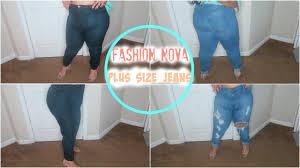 Fashion Nova Size Chart Plus Fashion Nova Has Plus Size Jeans Try On