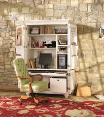 office desk armoire. Armoire Office. Trendy Ideas Home Office Plain Design Turned Cute Organized Desk Space Yes M