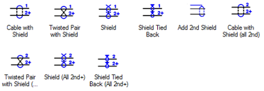 terminal autocad using cables in autocad electrical there are a number of other commands hiding away inside the cable markers side of the icon menu an entire submenu of shielded cables