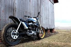 super sportster tracker by rule hard cycles bikebound