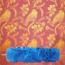 Pattern Roller Unique Bird Patterned Roller 48inch 48d Wallpaper Decoration Toll Wall