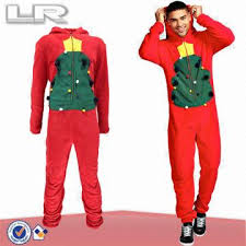 Hot Sale Best Price Adult Men's Novelty Christmas Tree Onesie ...